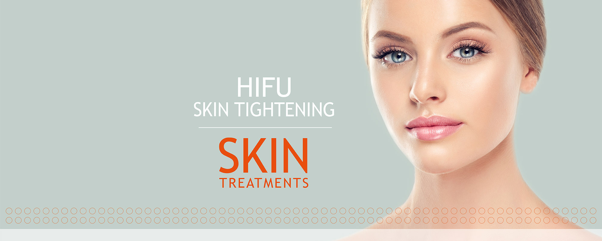 HIFU Skin Tightening Treatment Banner