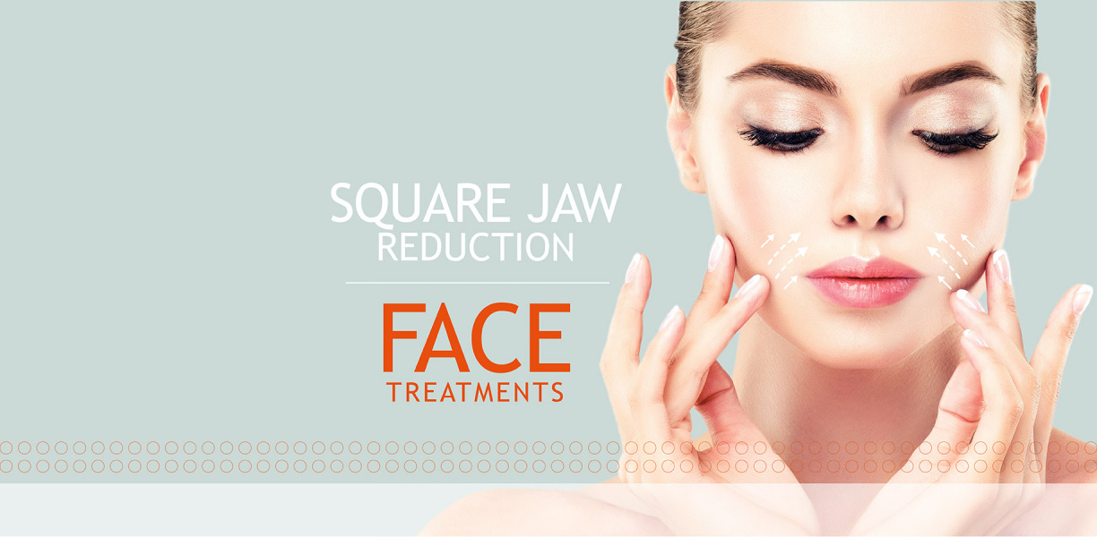 Square Jaw Reduction with Botox